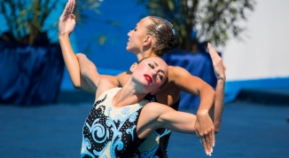 Ukraine's Anna Voloshyna and Yelizaveta Yakhno - Free Duet