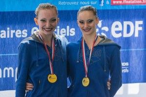 Championnes de France 2017- Duo (Strasbourg)