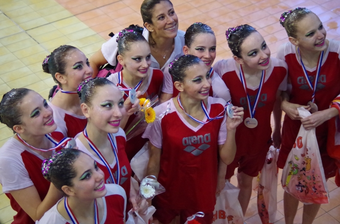 Vices Championnes de France Elite Espoir 2014 Sète